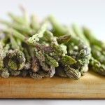 Sesame Roasted Asparagus - no mushrooms for me