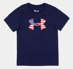 Boys' Toddler UA Flag Icon T-Shirt