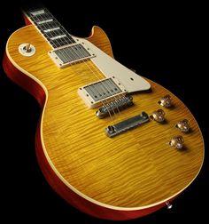 Gibson Custom Shop '59 Les Paul VOS Electric Guitar Lemonburst
