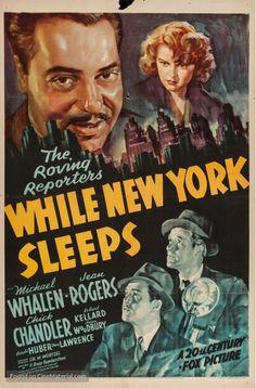 While New York Sleeps, 1938