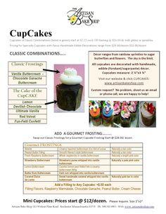 Artisan Bake Shop: 2011 Cake, Cupcake, Vintage Cake Pricing