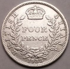 Amazon.com : GREAT BRITAIN 1938 4 PENCE SCU809KK....WORLDWIDE COIN : Everything Else