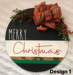 Christmas Wooden Signs, Merry Christmas Sign, Christmas Door Decorations, Christmas Porch, Christmas Design, Christmas Crafts, Christmas Ornaments, Xmas, Wooden Door Signs