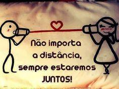 Independente das circunstâncias, nossos corações sempre estarão juntinhos❤