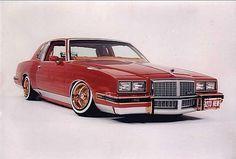 'Sweet n Sour' Lowrider, 1985 Pontiac Grand Prix built by Kevin Reilander 2001