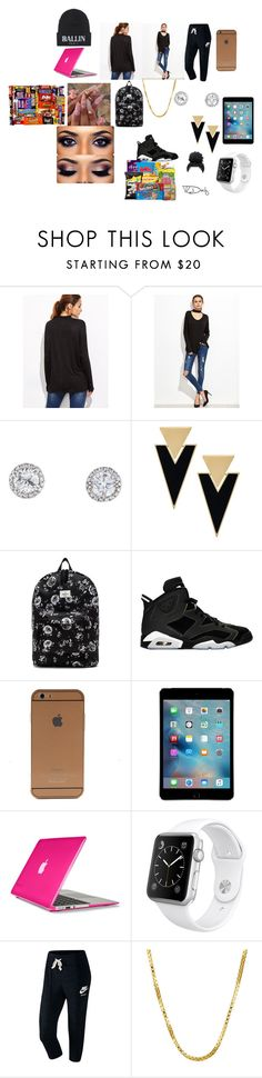 """""""ballin"""" by zaralover242 ❤ liked on Polyvore featuring Yves Saint Laurent, OBEY Clothing, Retrò, Speck, Apple, NIKE, Sterling Essentials and Brian Lichtenberg"""