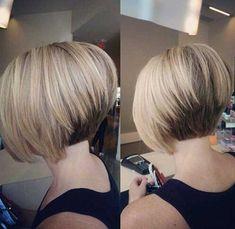 Realmente Elegante Curto Bob Cortes de cabelo para Mulheres - http://bompenteados.com/2017/11/24/realmente-elegante-curto-bob-cortes-de-cabelo-para-mulheres