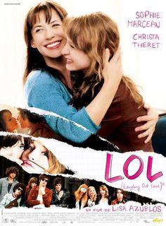 LOL ▹ Joli film sur l'adolescence et la génération MSN. Une ambiance très juste qui fait penser aux premiers films de Diane Kurys. Sophie Marceau est radieuse et impeccable dans son rôle de jeune maman quadra. Le remake US vient de sortir, par la même réalisatrice et Demi Moore reprenant le rôle de Sophie Marceau