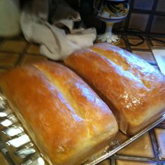 My homemade artisan bread .