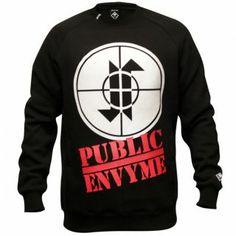 Jilted Royalty Public Envy Crewneck Black