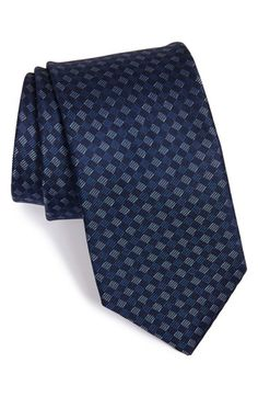 Michael Kors Grid Silk Tie available at #Nordstrom
