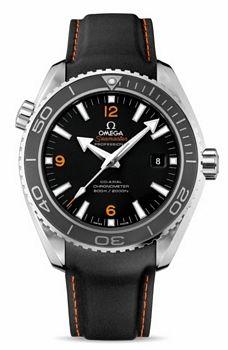 Omega Seamaster Planet Ocean XL Black Rubber Strap 232.32.46.21.01.005