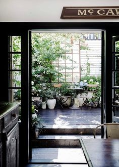 Vintage Home Beautiful vintage-inspired home - the main courtyard plays host to an antique… - This striking Sydney cottage embraces the old in a quintessentially modern manner - by Annette Dasey Design Cour, Courtyard Design, Melbourne House, Outdoor Areas, Inspired Homes, Interior And Exterior, Home Remodeling, Outdoor Living, Modern Design