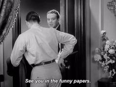 New trendy GIF/ Giphy. classic film warner archive see ya cecil b demille madam satan funny papers see you in the funny papers. Let like/ repin/ follow @cutephonecases