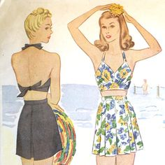 1940s bathing suit pattern