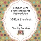 This fabulous pack of pacing guides for grades K-5 has all the standards mapped out already for you for the entire year!  No more wondering whether...