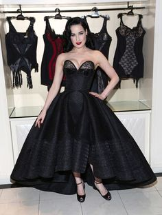 Dita Von Teese - Dita Von Teese Lingerie Collection Launch at Bloomingdale's 59th Street Store in NYC 20 March 2014 - female lingerie, intimates bras, micro lingerie *ad