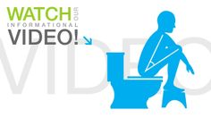 Squatty Potty: Squatty Potty demonstration video!  How to Go to the bathroom the correct way!