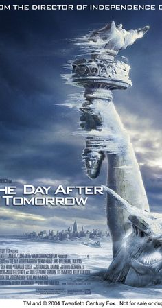 Directed by Roland Emmerich.  With Dennis Quaid, Jake Gyllenhaal, Emmy Rossum, Dash Mihok. Jack Hall, paleoclimatologist, must make a daring trek across America to reach his son, trapped in the cross-hairs of a sudden international storm which plunges the planet into a new Ice Age.
