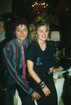 Michael Jackson and Madonna in 1986 #madonna #mdna #queen #blonde #music #madonnamdna #pop #retro http://www.madonnaweb.com.ar