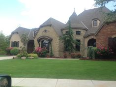 Beautiful home exterior and landscaping