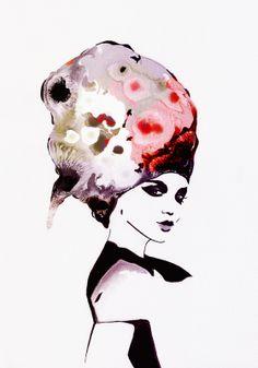 retratos de moda Amilka Olga Vercholamova