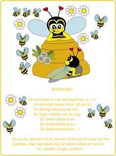 *▶ LIED: Bijenlied! Melodie: Ik stond laatst voor een....