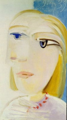 Pablo Picasso. Tête de femme (Marie-Therese Walter). 1939 year