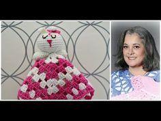 Baby Knitting Patterns Sleeping Bag How to crochet bunny blankie lovie - Part 1 (subtitulos en espanol - Par. Crochet Lovey, Manta Crochet, Crochet Bunny, Crochet Elephant, Baby Knitting Patterns, Crochet Patterns, Bunny Blanket, Lovey Blanket, Bandeau Crochet