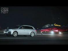 #Audi #SQ7 #TDI races #Fighter #Jet