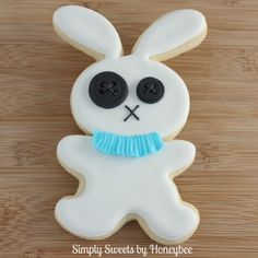 Simply Sweets by Honeybee: Rag Doll Bunnies aka Dead Bunnies  kinda funny with the x's in its eyes.