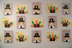 Growing in Pre K - Thanksgiving