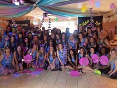 Bid day 2014! Sigma Sigma Sigma, Out of this world theme!