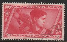 Stamp Italy SC 0293 1932 10th Anniversary Fascist Government March of Rome Used