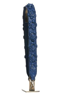 Free shipping and returns on Fendi Studded Flower Guitar Bag Strap at Nordstrom.com. Play it cool this season with a studded leather guitar strap that's bursting with Fendi's distinctive blooms.