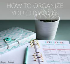 Based on Dave Ramsey, How to Organize Your Finances - Free Printables | Harper + Oakley