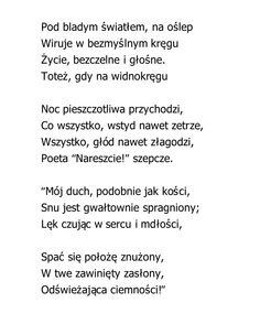 """Koniec dnia""  Charles Baudelaire"