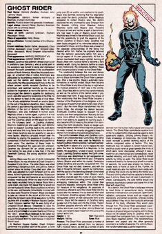 The Official Handbook of the Marvel Universe Issue - Read The Official Handbook of the Marvel Universe Issue comic online in high quality Marvel Comic Character, Comic Book Characters, Marvel Characters, Comic Books Art, Book Art, Hq Marvel, Marvel Comic Universe, Marvel Heroes, Comics Universe