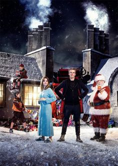 The BBC has revealed the title for this year's Doctor Who Christmas special and unveiled new promotional artwork featuring the cast. Written by showrunner Steven Moffat, 'Last Christmas' guest stars Spaced actor Nick Frost as Father Christmas, alongside Misfits actor Nathan McMullen and Michael Troughton, the son of actor Patrick Troughton, who played the Second Doctor....