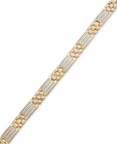 Things You Need to Know About Choosing a Diamond Bracelet Gents Bracelet, Mens Diamond Bracelet, Mens Gold Bracelets, Fashion Bracelets, Gold Bangles, Luxury Jewelry, Gold Jewelry, Jewelery, Men's Jewellery