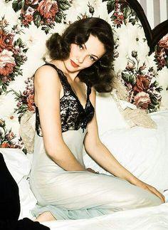 Gene Tierney, 1940s glamour