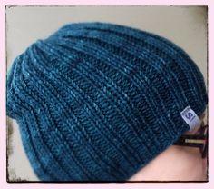A basic hat, yarn by Malabrigo. Peruspipo.