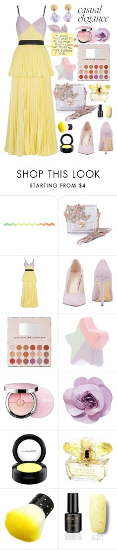 """""""Spring Fling - Top Fashion Set for Mar 27th, 2018"""" by celeste-menezes ❤ liked on Polyvore featuring Sophia Webster, self-portrait, Nine West, Michael Michaud, Guerlain, Chanel, MAC Cosmetics and springdresses"""