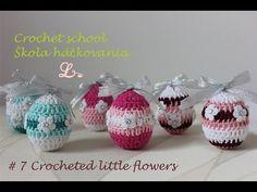 Crochet Easter Egg - Flowers - YouTube
