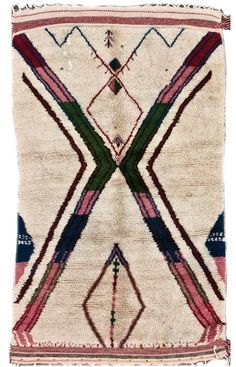 LOVE the colors + pattern in this one // Rugs USA