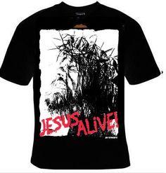 jesus alive T-shirt unisex  tee shirt jesus the god