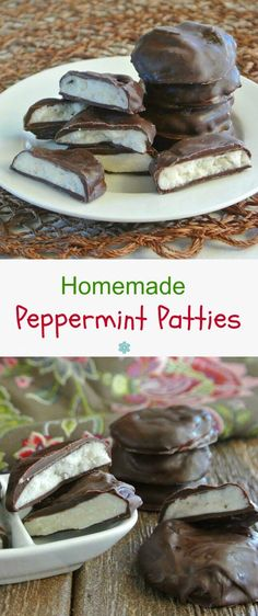 Homemade Peppermint Patties are so simple and as pure as a candy can be. No additives or preservatives with only four ingredients. Let's get festive!