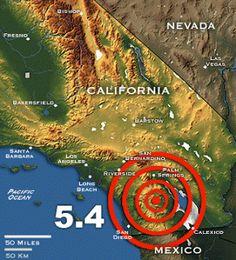 Broadhead's Blog: What if you knew? California earthquake