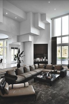 A Classic, Elegant And Luxury Living Room.