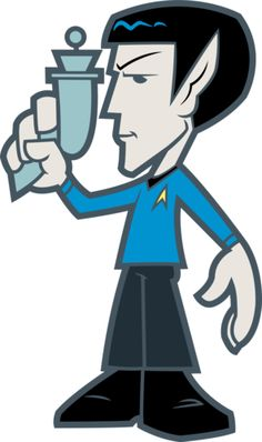 Spock - Amazing Star Trek Quogs Wall Graphics for your home or office!